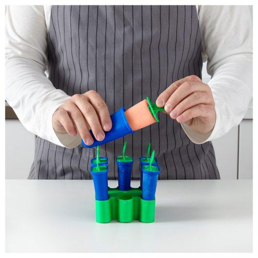 قالب بستنی آبی-سبز ایکیا مدل CHOSIGT