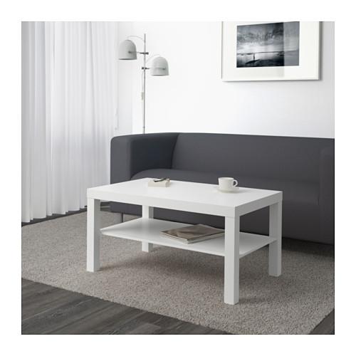 میز جلو مبلی سفید ایکیا مدل LACK