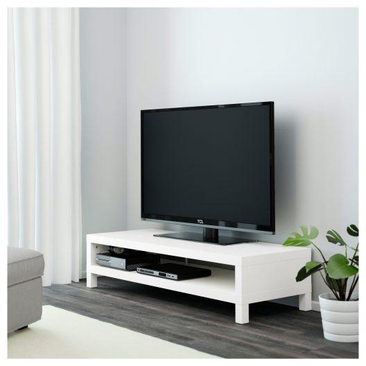 میز تلویزیون سفید ایکیا مدل LACK