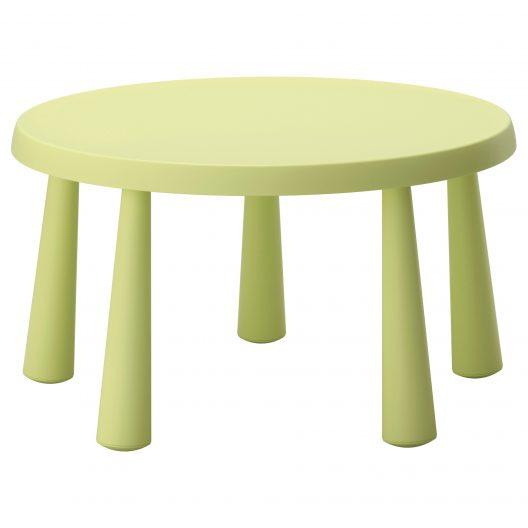 میز کودک سبز ایکیا مدل MAMMUT