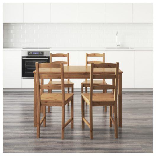 میز و صندلی چهار نفره ایکیا مدل JOKKMOKK