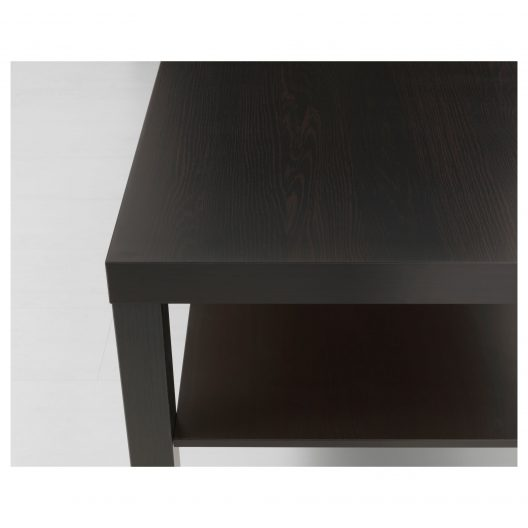 میز جلو مبلی قهوه ای سوخته ایکیا مدل LACK