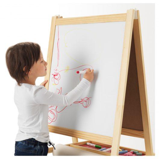 تخته سیاه و وایت برد کودک ایکیا مدل MALA