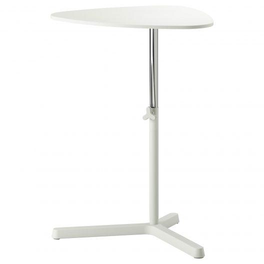 میز لپ تاپ سفید ایکیا مدل SVARTASEN