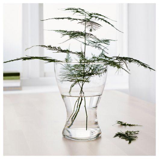 گلدان شیشه ای ایکیا مدل VASEN
