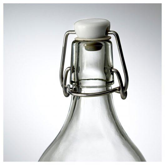 بطری آب یک لیتری ایکیا مدل KORKEN