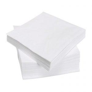 دستمال سفره سفید ایکیا مدل FANTASTISK