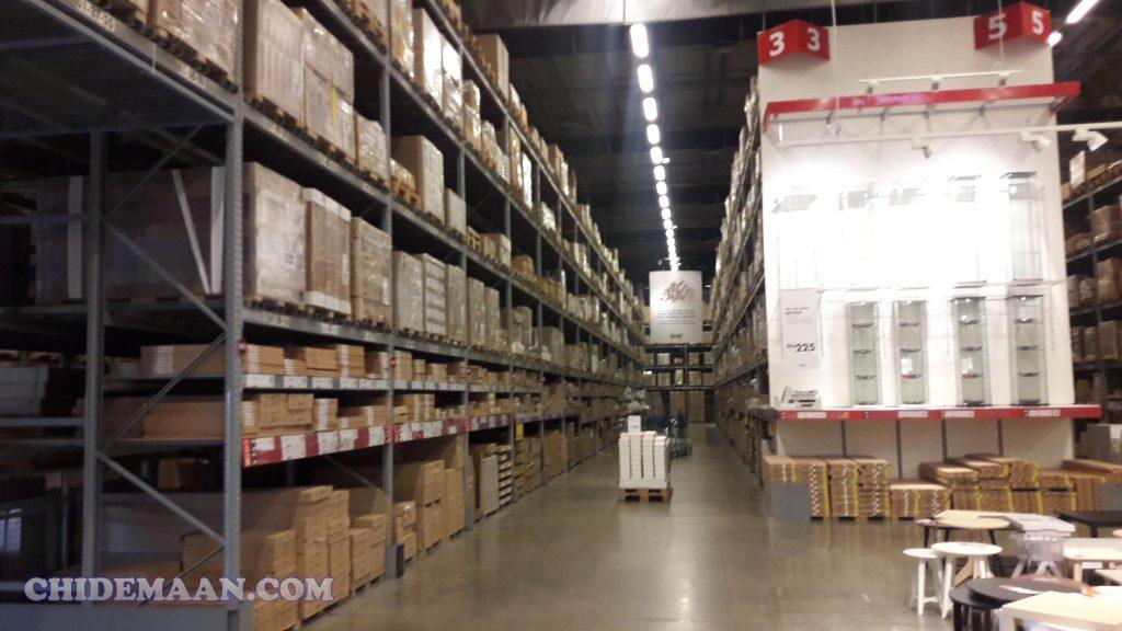 بزرگترین فروشگاه ایکیا در تهران