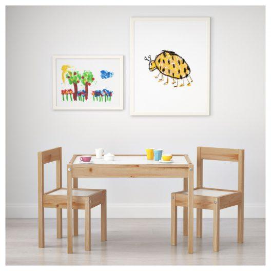 میز و صندلی کودک ایکیا مدل LATT