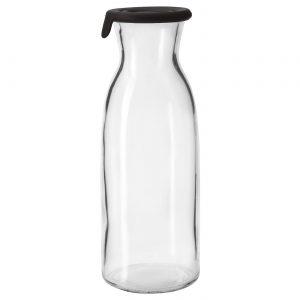 بطری آب شیشه ای ایکیا مدل VARDAGEN