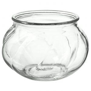 گلدان شیشه ای ایکیا مدل VILJESTARK سایز 8