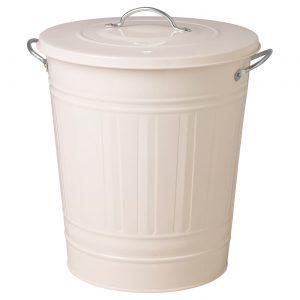 سطل آشغال سفید ایکیا مدل KNODD 40 لیتری