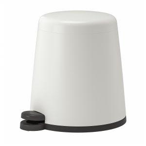 سطل زباله 5 لیتری سفید ایکیا مدل SNAPP