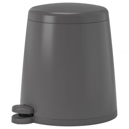 سطل زباله 5 لیتری طوسی ایکیا مدل SNAPP