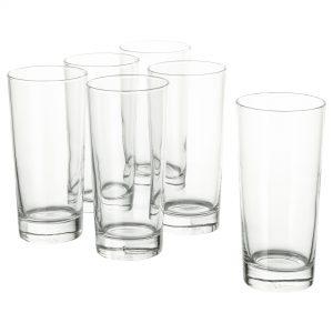 لیوان شیشه ای ایکیا مدل GODIS