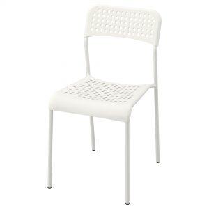 صندلی سفید ایکیا مدل ADDE