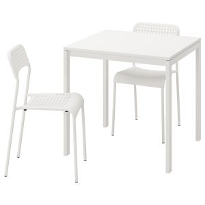 میز ناهار خوری سفید ایکیا مدل MELLTORP