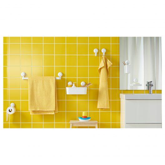 شلف دیواری حمام ایکیا مدل TISKEN