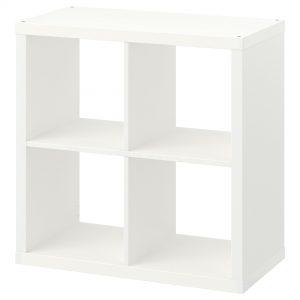 قفسه چهار خانه سفید ایکیا مدل KALLAX