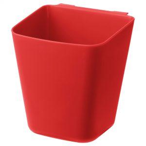 سطل قرمز پلاستیکی ایکیا مدل SUNNERSTA