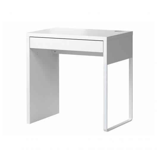 میز تحریر سفید ایکیا مدل MICKE