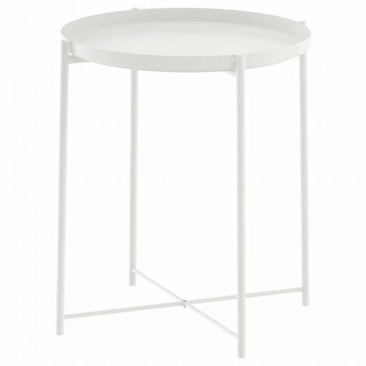 میز عسلی سفیدایکیا مدل GLADOM