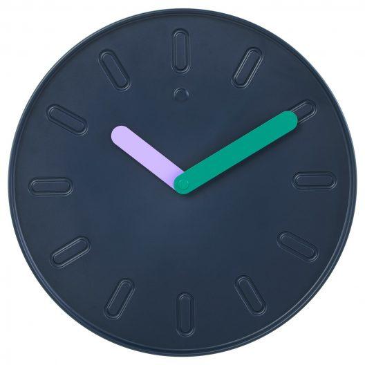 IKEA Wall clock, dark blue
