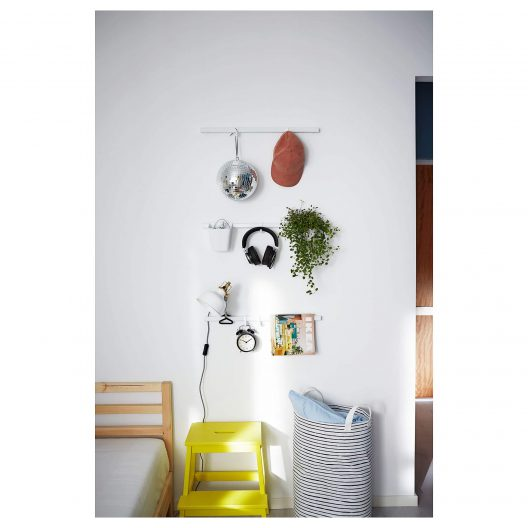 IKEA wall rail