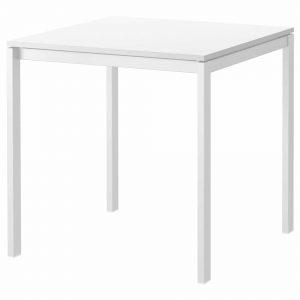 میز تک 2 نفره سفید ایکیا مدل MELLTORP