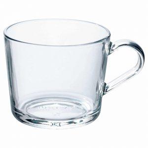 فنجان شیشه ای ایکیا مدل IKEA 365+