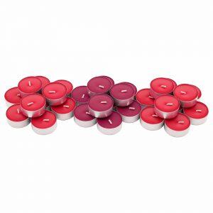 شمع وارمر معطر قرمز 30 تایی ایکیا مدل SINNLIG