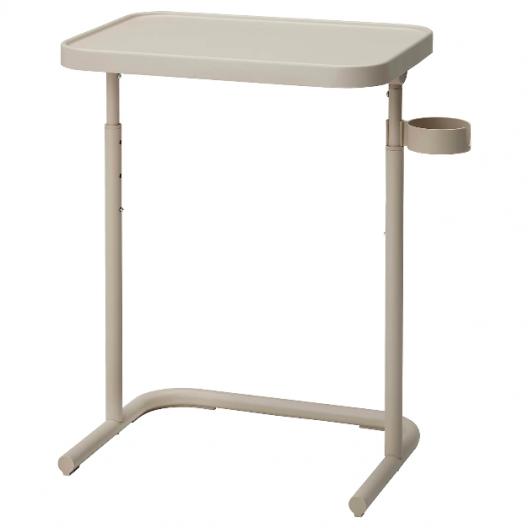 میز لپ تاپ بژ ایکیا مدل BJORKASEN