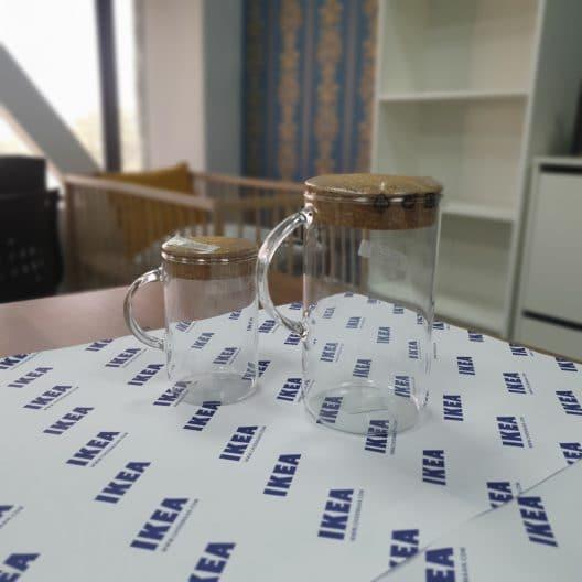 پارچ چوب پنبه نیم لیتری ایکیا مدل IKEA 365+