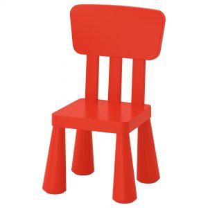 صندلی کودک قرمز ایکیا مدل MAMMUT
